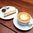 Dessert and coffee @ Three Little Birds, Sentul  The highly rated cafe and cheesecake.