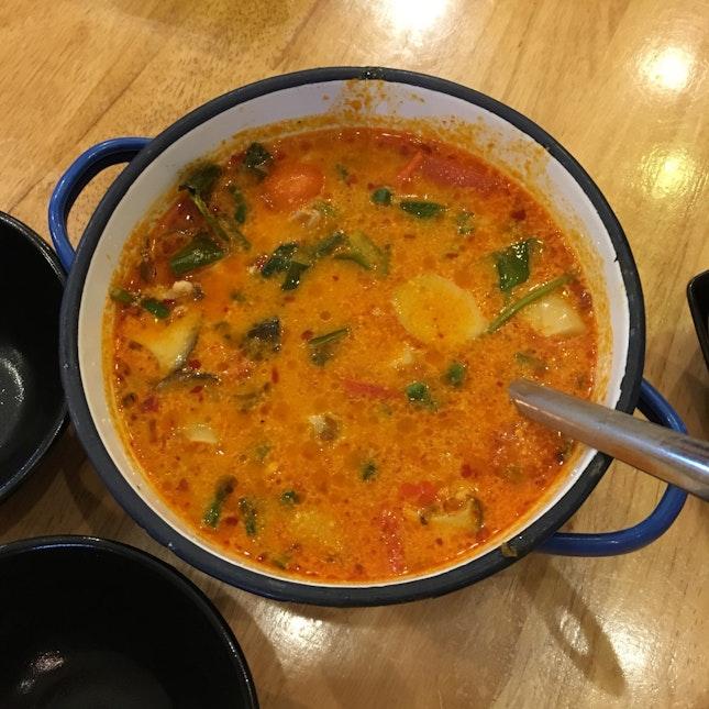 Red Tom Yum Chicken