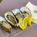Freshly shucked French Oysters are great appetizers ($4.50 per piece)