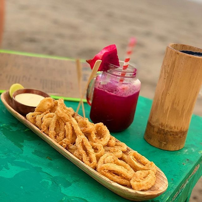 Here at La Plancha to chill and catch the sunset?