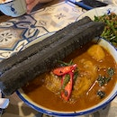 Chicken Curry With Charcoal Youtiao