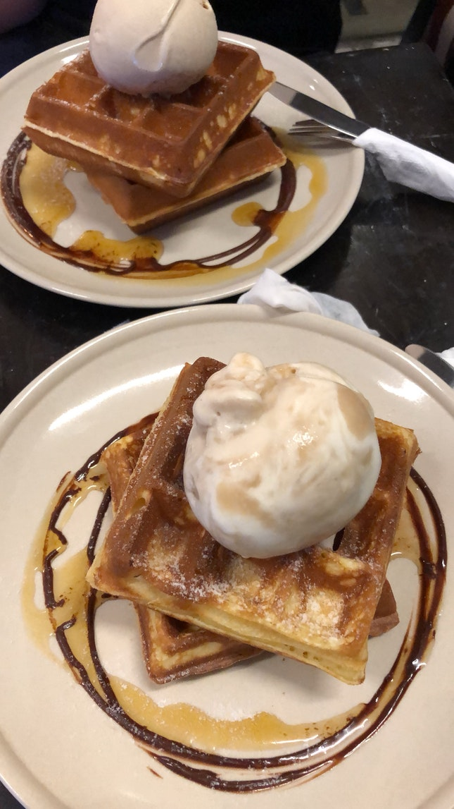 Waffle Single Scoop