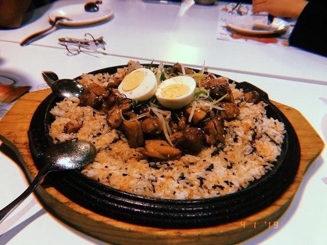 Soy Chicken Rice