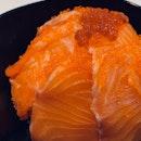 Salmon Sashimi Don ($10)