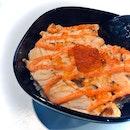 Salmon Mentaiko Don ($10)