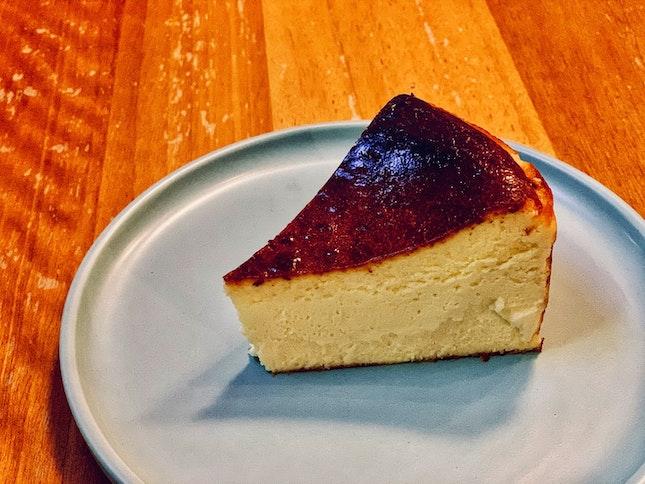 Burnt Cheesecake ($8)