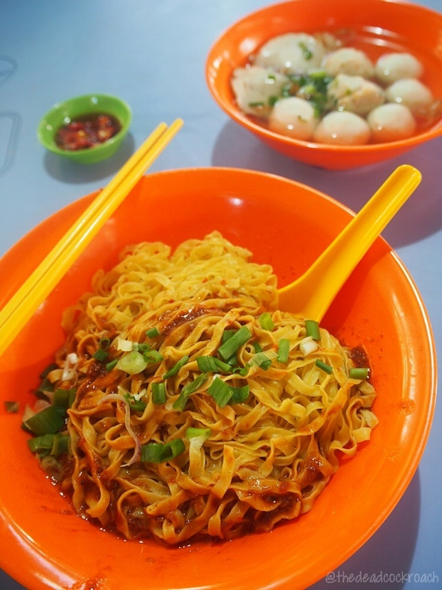 Super Filling Fishball Noodles