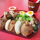 Teochew Braised Duck Served Japanese Styled