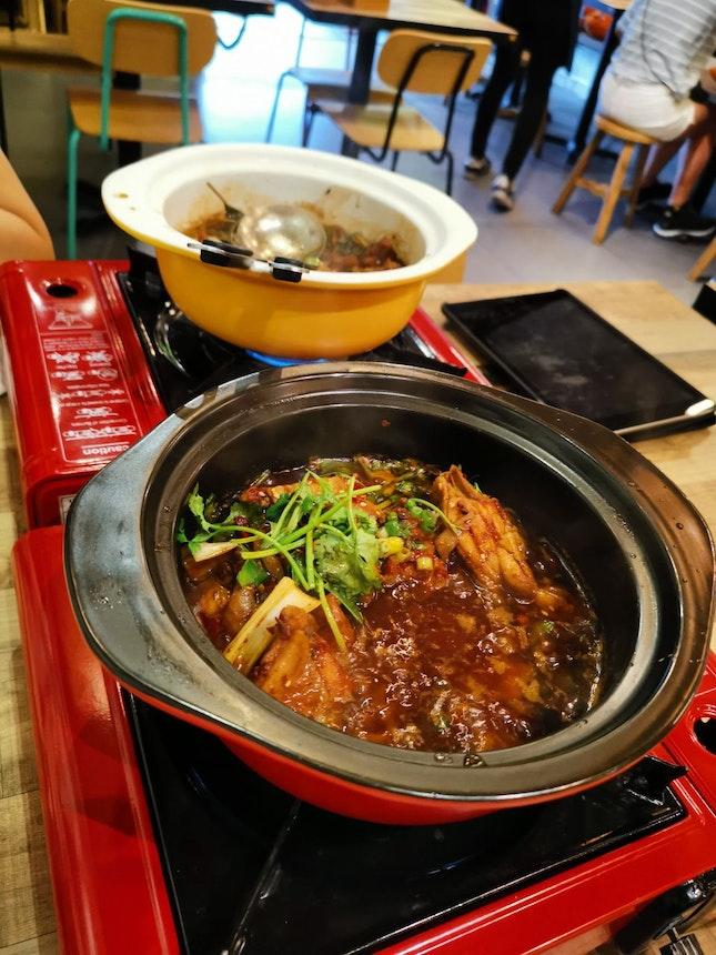 Xiang La Chicken Pot