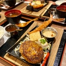 Triple Cheese Prime Hamburg Steak Set