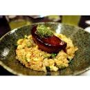 Super awesome Foie Gras fried rice 😋 yumzzz @ Matsuya, Jalan Telawi 2, Bangsar