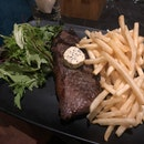 Striploin Steak With Truffle Fries!