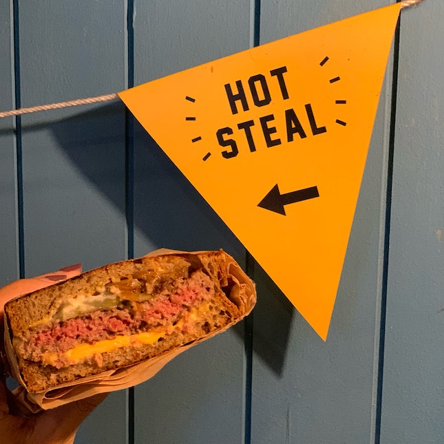 Impossible Patty Melt