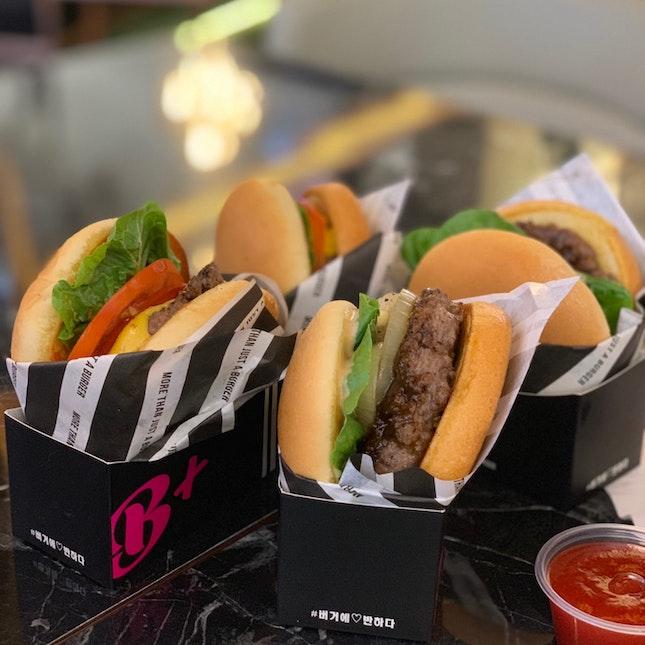 Cheese Burger & Korean Bulgogi Burger
