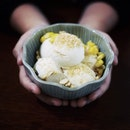 A refreshing side to Coconut Ice-Cream.