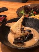 Seafood Soup ($16)