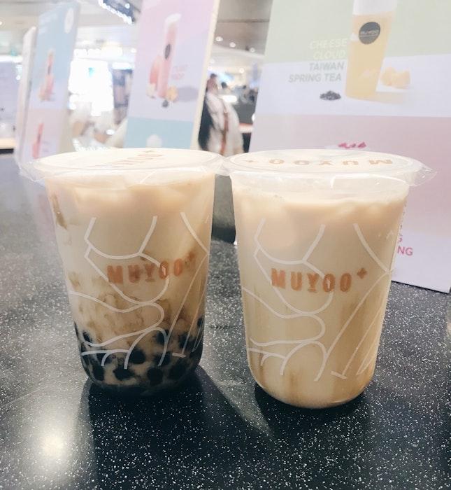 Brown Sugar Milk Tea Latte