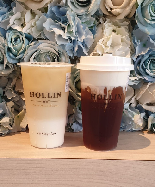 Green Tea Latte & Earl Grey Macchiato ($3-5)