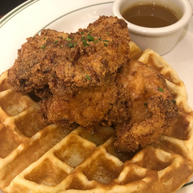 Chicken & waffles - Not Worth the Calories