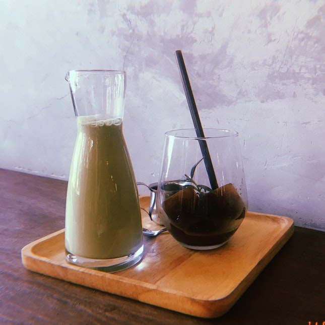 Matcha Milk Espresso Ice Cube