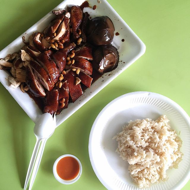 Soy Sauce Chicken .