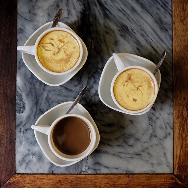 Egg Coffee (28K Dong)  Looking for traditional egg coffee.