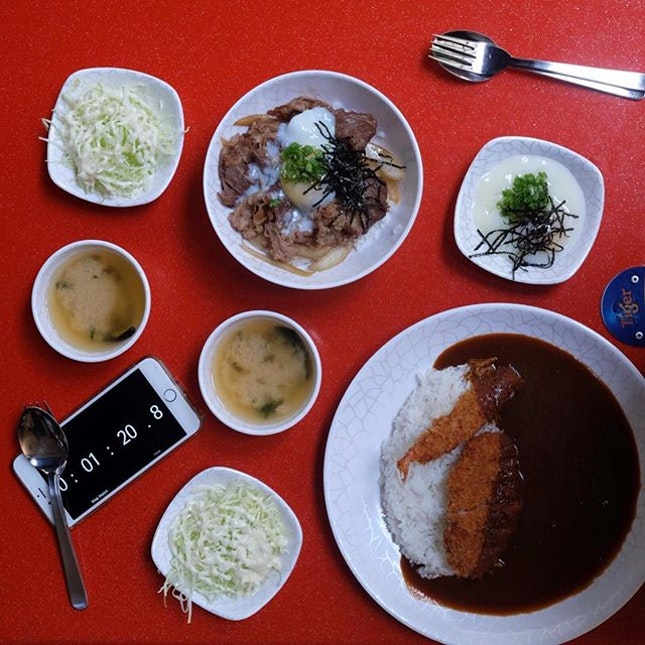 Japanese Lunch .