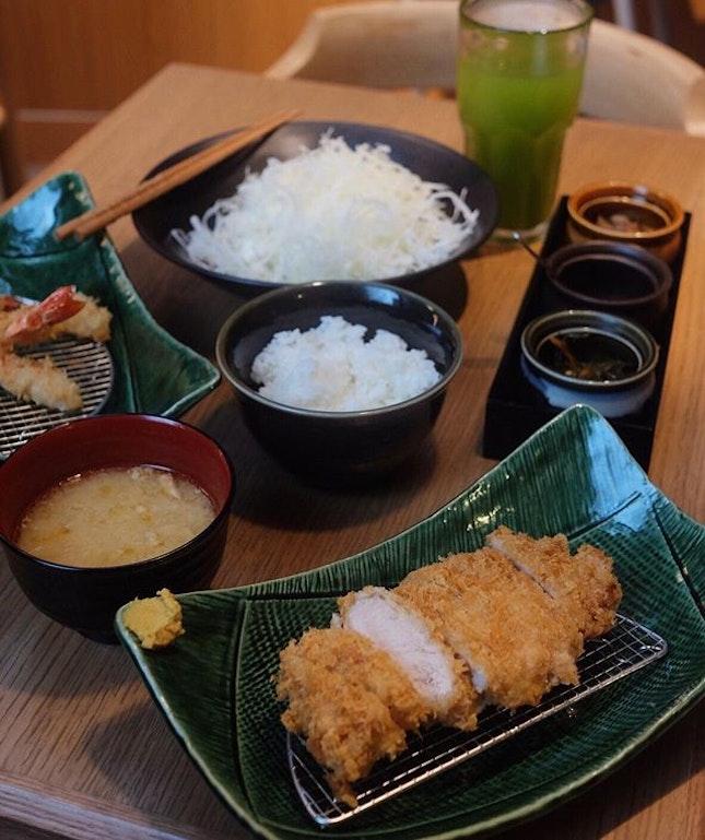 Tonkatsu (S$24.90) .