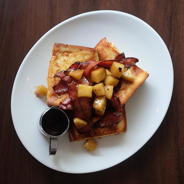 Ultimate French Toast ($14) .