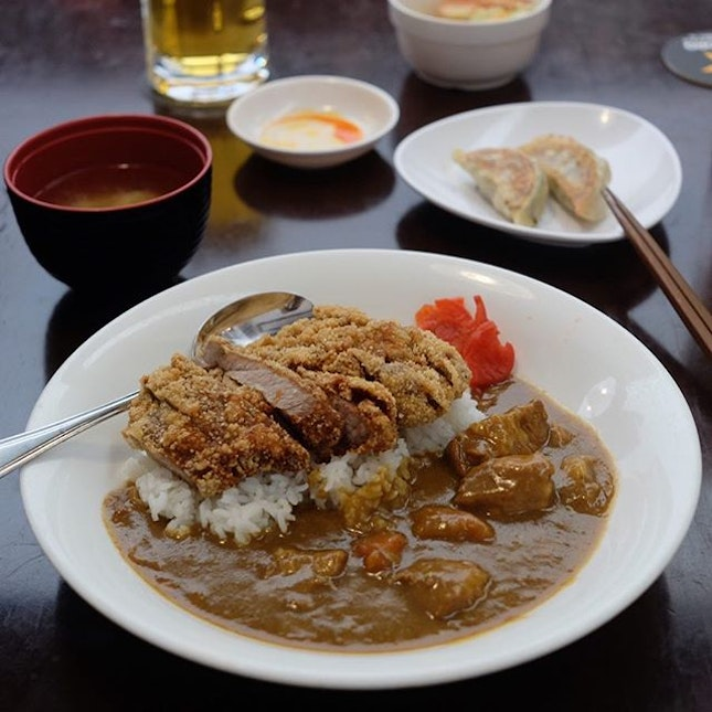 Pork Cutlet Curry Rice ($15.80) .