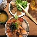 Today Special - Bara + Salmon + Scallop.