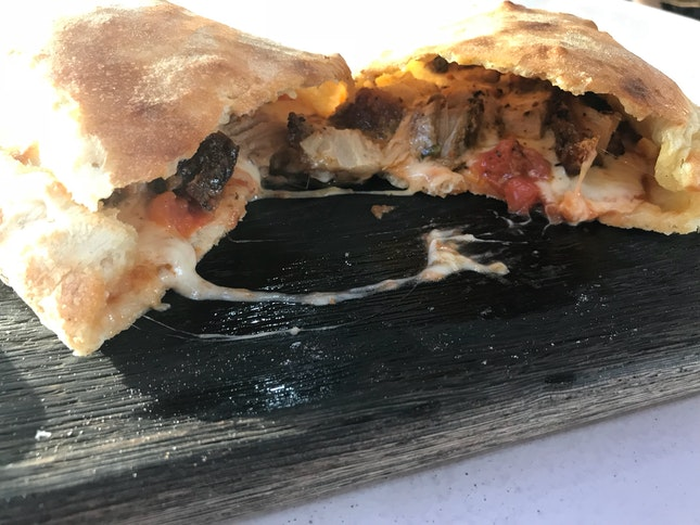 """Delicious Calzone 10"""" For $13"""