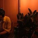 🍑-y weekend — #vscocam #foodie #foodblog #foodporn #bar #bangsar #apwbangsar #eatdrinkkl #weekend #interior #kualalumpur #burpple #burpplekl #jfbgoes