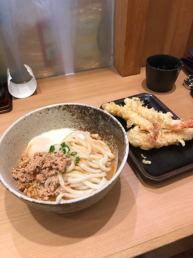 thick smooth udon