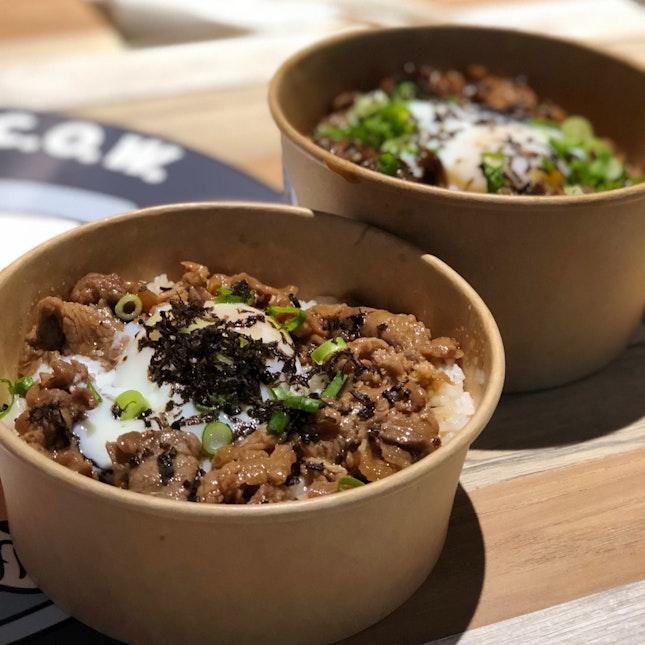Truffle Sukiyaki Beef Bowls