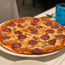 Bormio: Minced Pork and Pepperoni Pizza