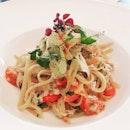 Crabmeat Aglio Olio, $26