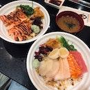 Mentaiko Salmon ($9.90) & Assorted ($13.90)