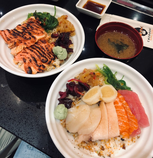 Mentaiko Salmon ($9.90) & Assorted ($13.90)