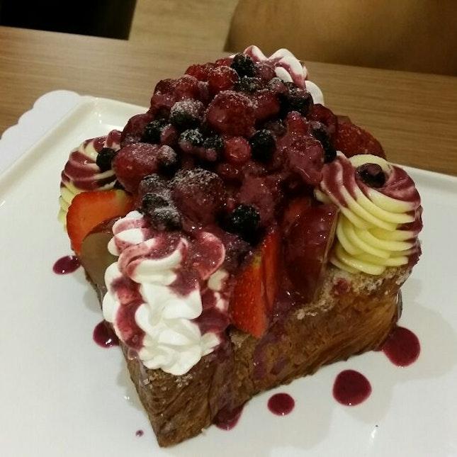 Berry Honey Toast
