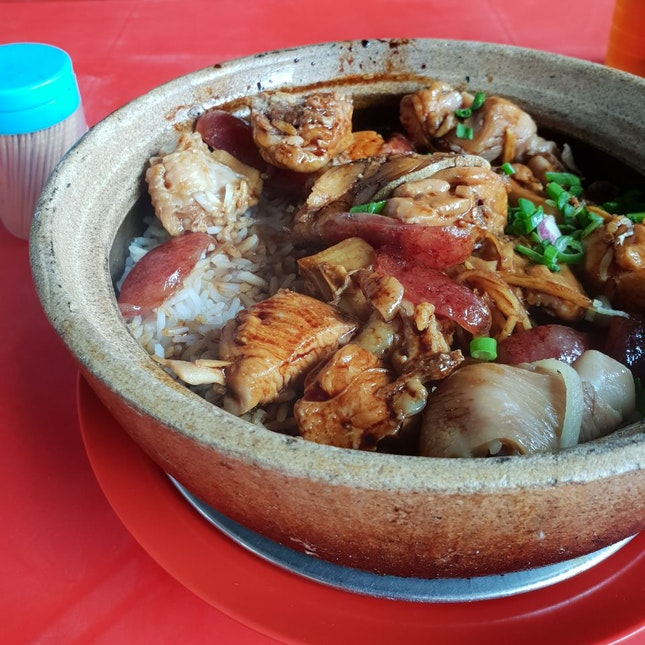 Go To Place For Claypot Chicken Rice