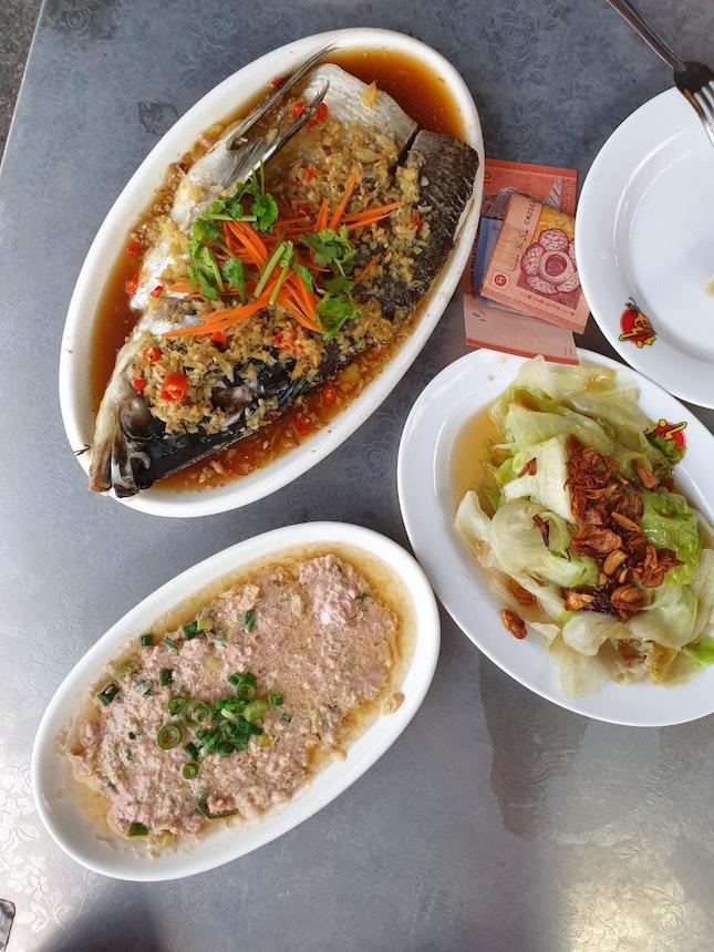 Steam Fish For Dinner