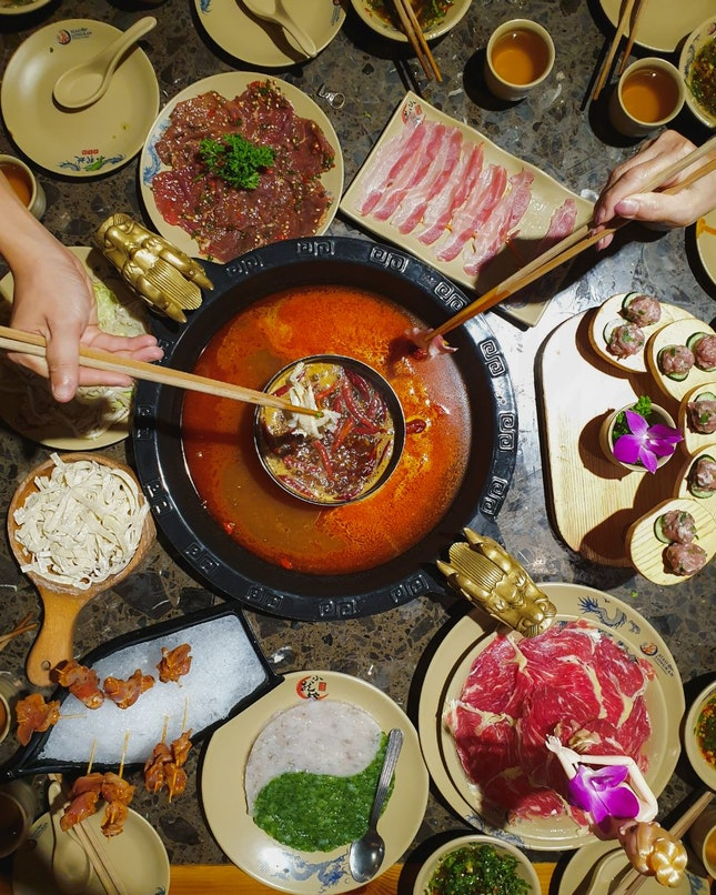 Chinese Hot Pot From Chengdu