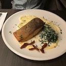 Pan-seared Salmon yum