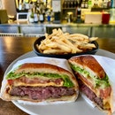 basic beef burger