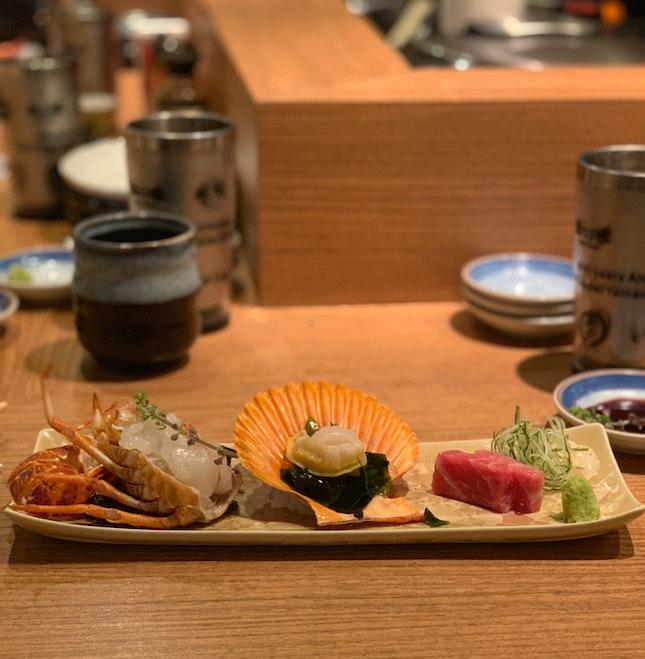 sashimi (omakase) 🌟