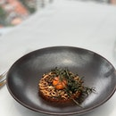 wagyu beef tartare with yolk!!