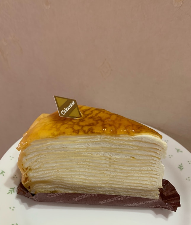 mille crepe cake!
