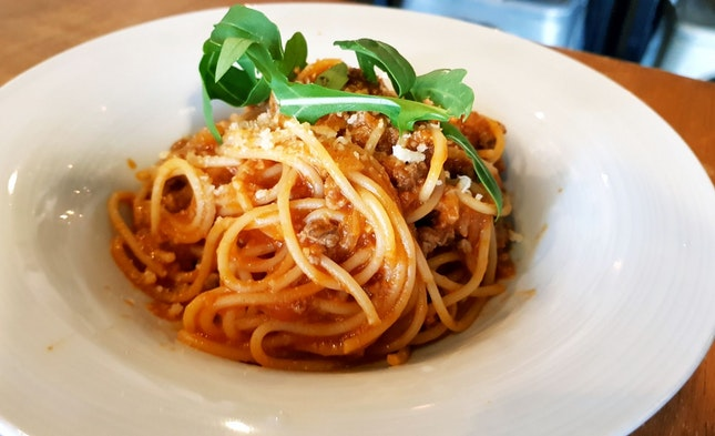 Rustic Beef Bolognese ($15)