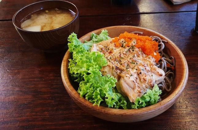 Nourishing Salmon-Soba Bowl
